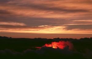 北岳からの夜明け